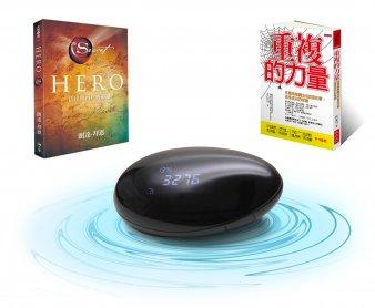 圓夢商品-活出內在Hero實踐套組:許願石+重複的力量+Hero